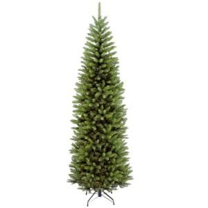 National Tree Company 7 Ft Kingswood Fir Pencil Hinged Artificial Christmas Tree Kw7 500 70 The Home Depot In 2020 Pencil Christmas Tree Pencil Trees Slim Christmas Tree