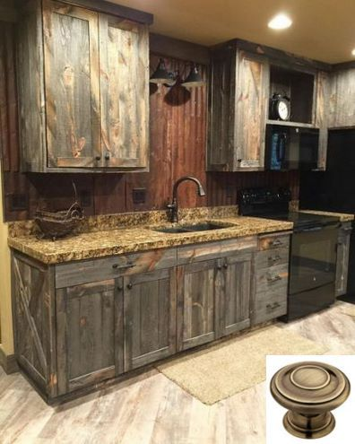 Dark Light Oak Maple Cherry Cabinetry And Unfinished Wood Kitchen Cabinets Uk Chec Rustic Modern Kitchen Rustic Farmhouse Kitchen Rustic Kitchen Cabinets