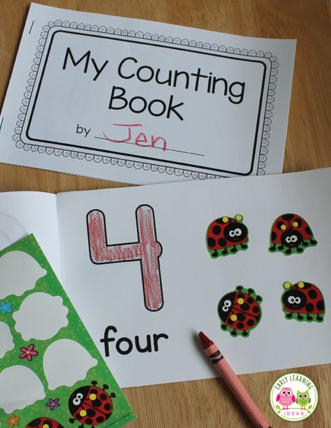 Make Your Own Number Books   1-10 Counting Books