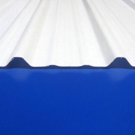 Frp R Panel 8 Oz 162gp 405 White 37 75 X 144 Sheet At Eplastics Plastic Roofing R Panel Corrugated Plastic Roofing