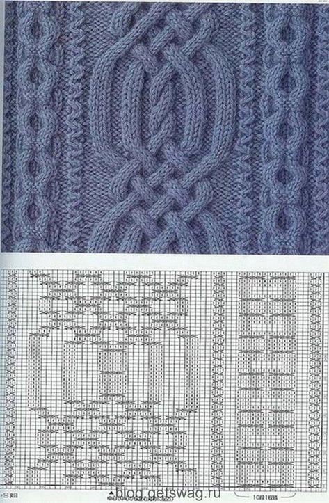 Стильные вязанные вещи схемы. Вязание стильных вещей: фото ...