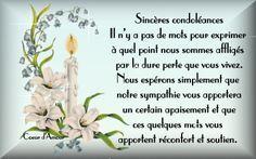 Epingle Par Alcindor Marie Claude Sur Condoleances Messages Place