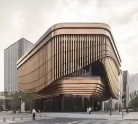 The Bund Finance Center by Foster Partners & Heatherwick Studio in Shanghai, China : Check out