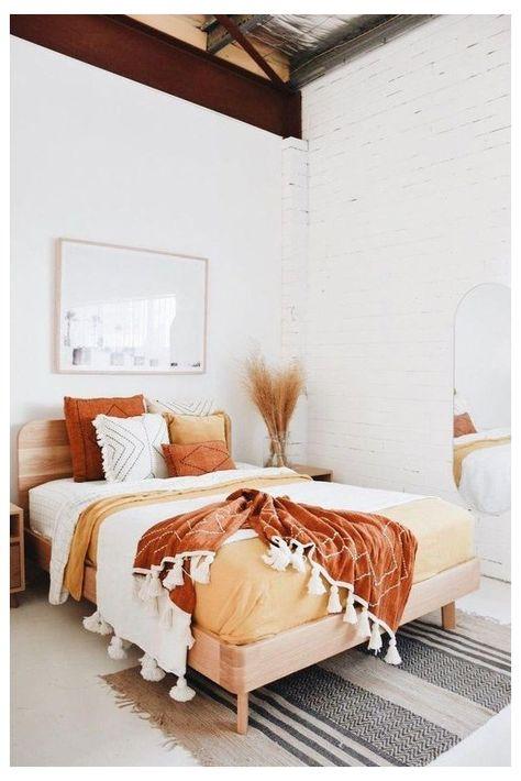 Bedroom Storage Ideas For Clothes, Bedroom Storage For Small Rooms, Warm Home Decor, Home Decor Colors, Sunshine Coast, Farmhouse Bedroom Decor, Wicker Bedroom, Diy Bedroom, Bedroom Inspo