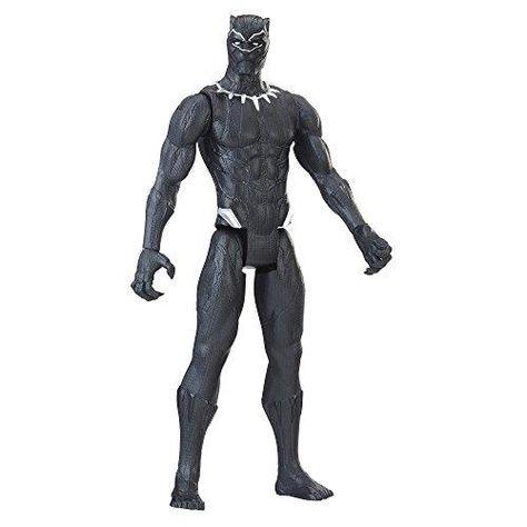 Marvel Black Panther Titan Hero Series 12-inch Black Panther - Black