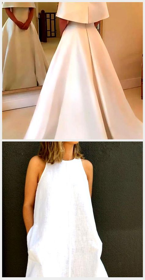 27 Awesome Simple Wedding Dresses For Cute Brides | Wedding Dresses Guide,  #Awesome #Brides #Cute #Dresses #Guide #Simple #Wedding