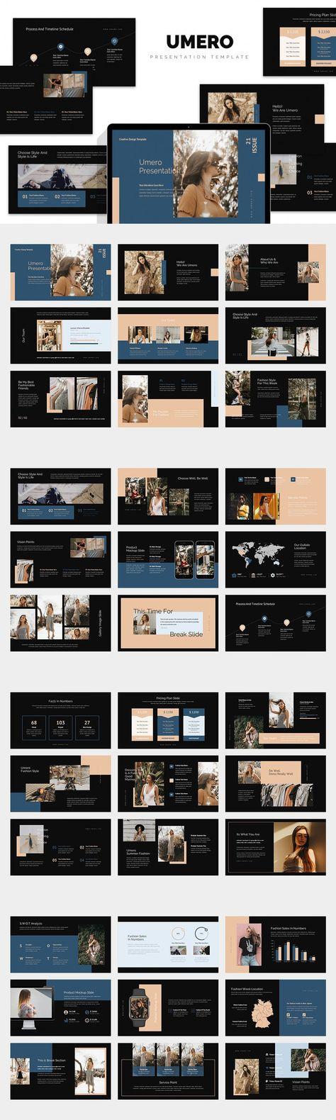 Umero : Fashion Agency Powerpoint