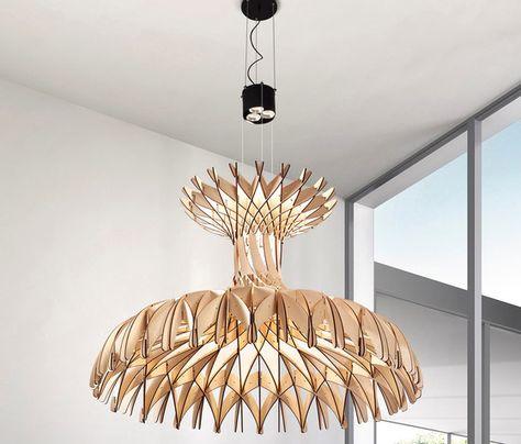 Kai Lustre Glass & Bronze Table Lamp