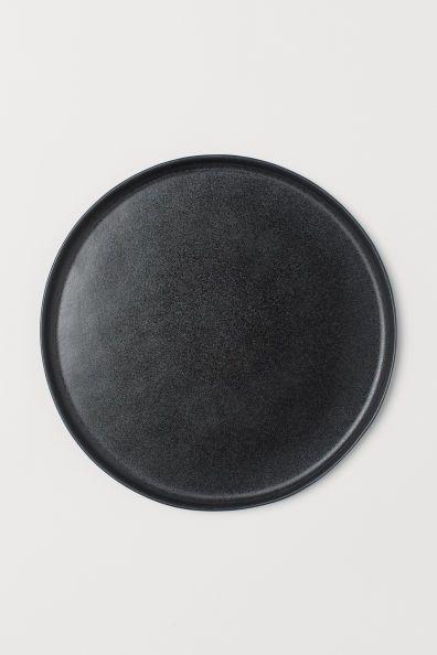 Large Stoneware Plate Kitchenware Shop Stoneware H M Home