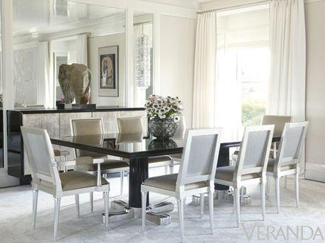 Inspiring Veranda Magazine Dining Rooms Pictures   Best .