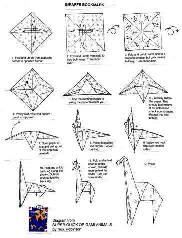 Origami Horse Instructions Advanced . New origami Horse ... on