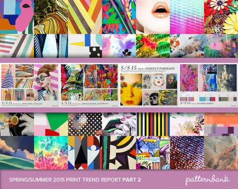 The Ultimate Spring/Summer 2015 Print Trend Report Collection – 3 x PDF Bundle trend forecasts print pattern