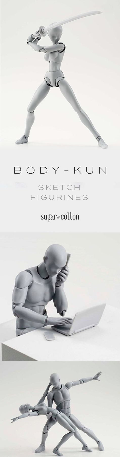 Body-Kun - Posable Figurines for Artists - ★★★★★ (5/5)