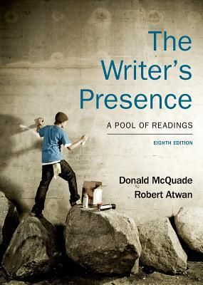 Download Free The Writer S Presence A Pool Of Readings By Donald Mcquade For Online In 2021 Books Writer Download Books