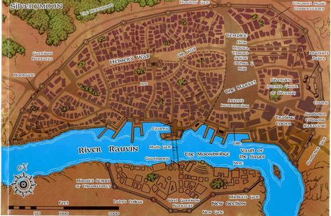 Faerun Cities