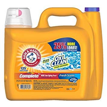 Arm Hammer Complete With Oxi Clean Liquid Laundry Detergent