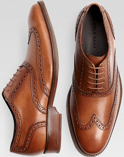 Joseph Abboud Barstow Brown Wingtip Lace Up Dress Shoes | Chaussures |  Pinterest | Joseph abboud, Dress shoes and Brown