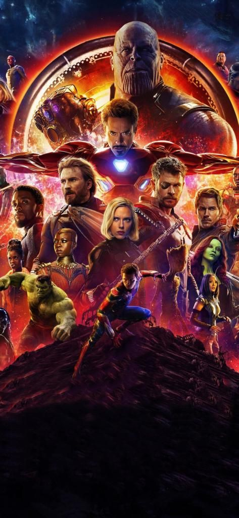 Iphone X 4k Wallpaper Avengers Infinity War Studio S Grappig