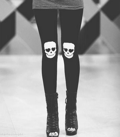 Skull girl.