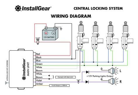 16 Car Center Lock Wiring Diagramcar Center Lock Wiring Diagram