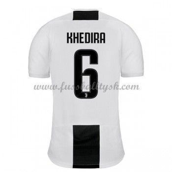 Series A Fussball Trikots Juventus 2018 19 Sami Khedira 6 Heimtrikot Kurzarm Juventus Trikot Trikots Fussballtrikots