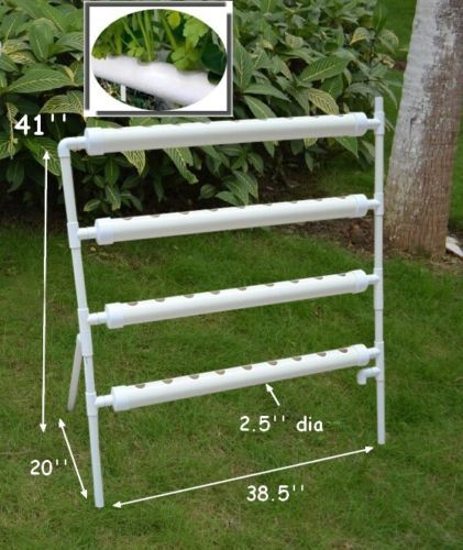 Ebb And Flow Deep Water Culture Terrace Type Hydroponic 36 Plant Sites Grow Kit Ebay Hydroponics Diy Hydroponics Home Hydroponics
