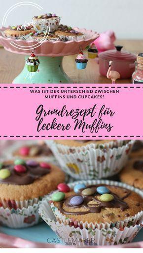 Einfaches Muffins Grundrezept Perfekt Zum Variieren Grundrezept Rezepte Lecker