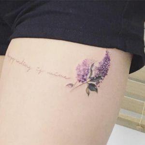 Tatuajes De Lavanda Significado Y Recopilacion De Disenos Tatuaje Lavanda Lavanda Tatuajes
