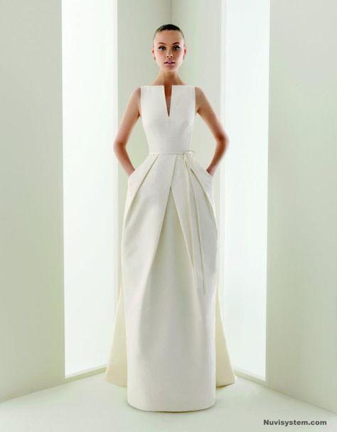 f3c232759e List of Pinterest rosa clara wedding dress audrey hepburn simple ...