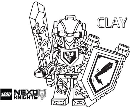 Coloring Pages For Free To Print Out Fresh Lego Nexo Knights
