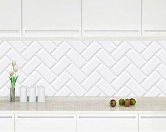 Removable Peel And Stick Wallpaper Etsy Wall Waterproofing Metallic Backsplash Kitchen Wall Stickers