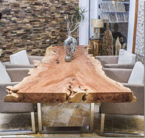 Esstisch Baumscheibe Lychee Esstisch Baumstamm Esstisch Tisch