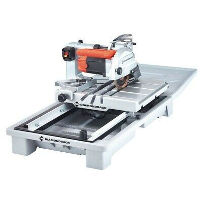 Ad Ebay Link Diamondback 7 In Heavy Duty Wet Tile Saw With Sliding Table 64683 Brand New Sliding Table Tile Saw Industrial Water Pumps