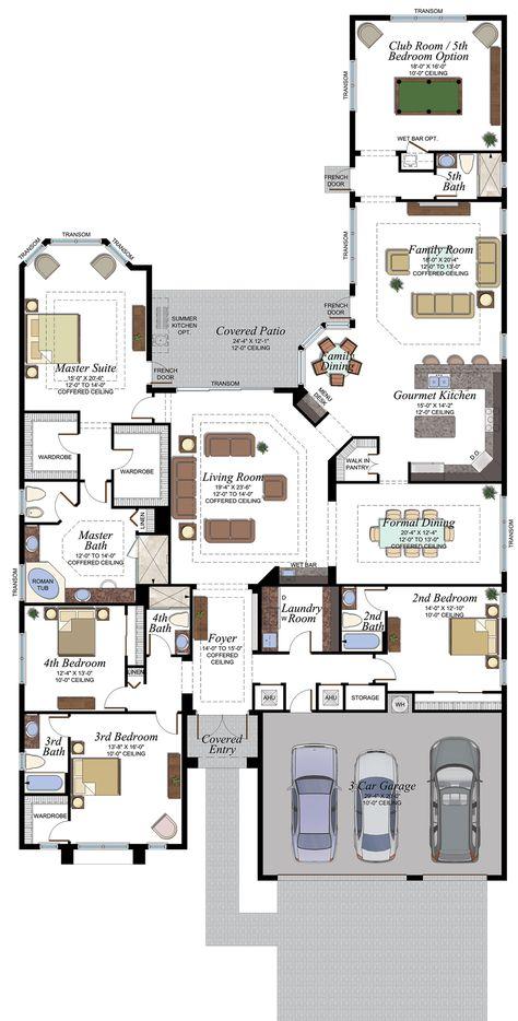 280 Idées De Plans Plan Maison Maison Plan De Maison