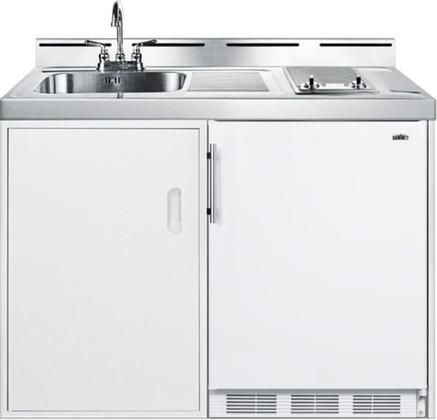 C48elglasskit 48 Combo Kitchen With Ct661 5 1 Cu Ft Compact