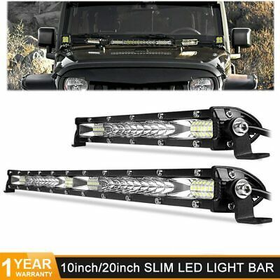 Details About 150 W Super Slim Led Light Bar Kit Wiring Harness Offroad Suv Atv Waterproof Bar Lighting Led Work Light