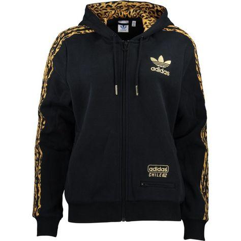 adidas hoodie leopard print