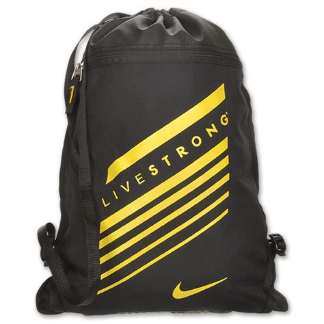 Nike LIVESTRONG Team Training Gym Sack