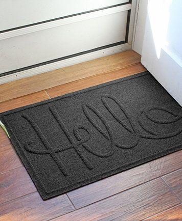 Bungalow Flooring Water Guard Simple Hello 2 X3 Doormat Reviews Rugs Macy S Door Mat Outdoor Door Mat Beaupre