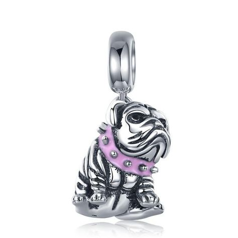 925 Sterling Silver  'Doggy Charm' Collection - W