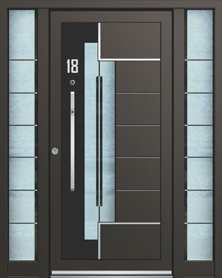 Alu Hausturen Peter Kraml Fenster Und Hausturen In 2020 Cupboard Design Custom Door Steel Doors