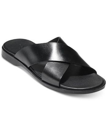 Criss cross sandals, Cole haan men