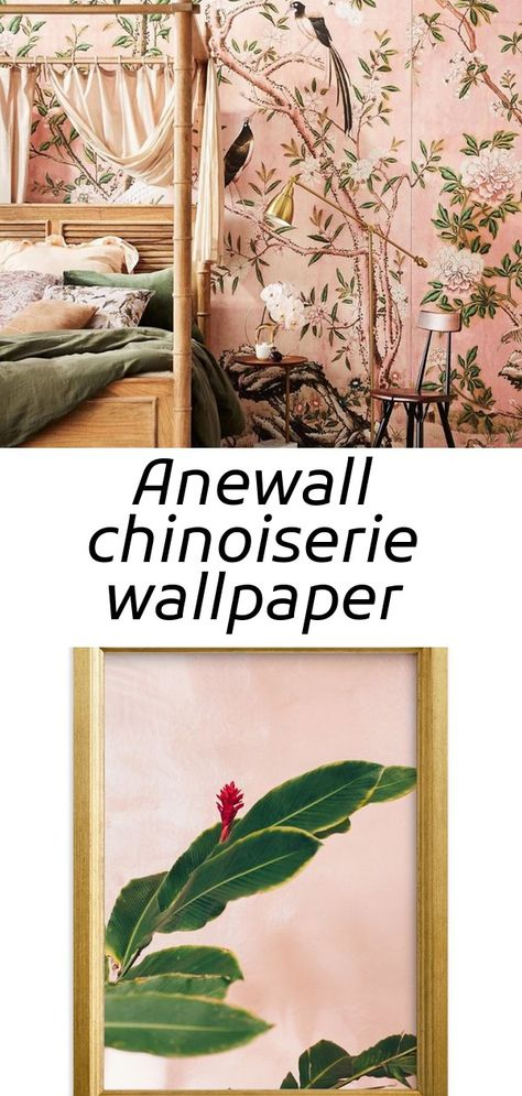 Anewall chinoiserie wallpaper