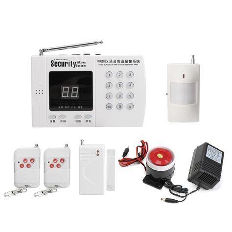 Wireless Alarm System Diy Wireless Home Security Systems Security Alarm Alarm System