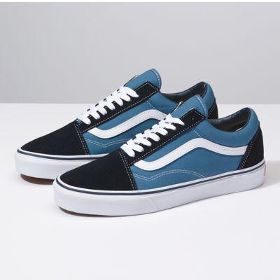 zapatos vans azul