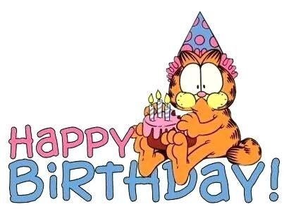 Garfield Birthday Images Feat Birthday Wishes Click On The Pic To Access My Collection Of To In 2020 Garfield Birthday Happy Birthday Greetings Happy Birthday Pictures