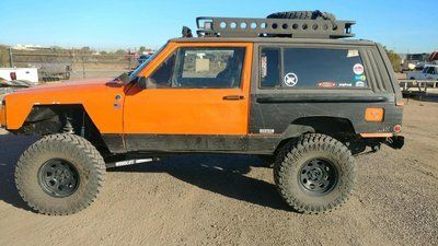 Xj 84 01 Jeep Cherokee Xj Quarter Panel Body Armor 2 4 Door