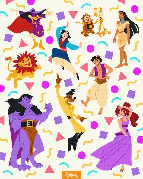 90s Disney characters