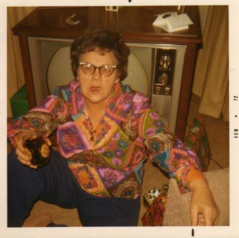 """Every Christmas, the only thing Mom ever asked for was """"Another God Damn Rum & Coke!"""""""