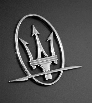 Trident Car Logo >> Trident Symbols Maserati Badge And Trident Symbol On The Grille Of